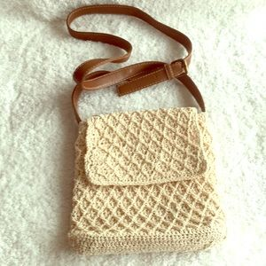 Crossbody Crochet Purse